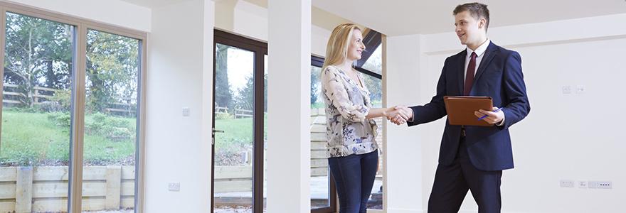 des transactions immobilières